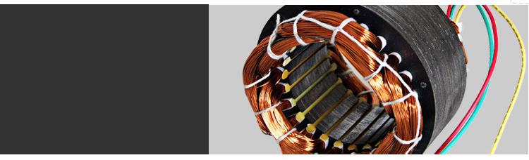 离心式引风机全铜线细节图
