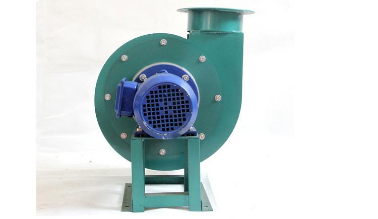 耐高温小型锅炉引风机正面图